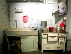 Museum in Waldenbuch -- Küche der 1950er Jahre