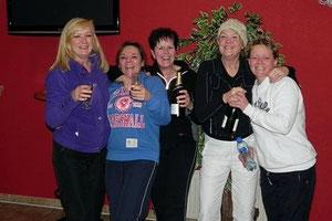 V.l.n.r. Elly, Carla, Caroline, Hanneke & Jessica