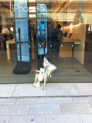 Apple Store銀座店 2012年10月4日9:45