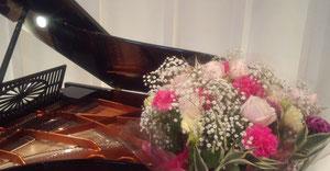 ピアノはベーゼンドルファー♪