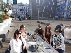 Nadja, Corinna, Laura, Ich und Denise :) (Jakob fehlt leider)