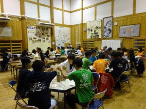 9月14日(木) NPO法人学生人材バンクZzcプロジェクト合宿 交流会の様子