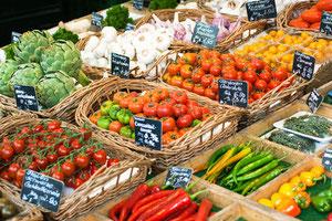 Die Lebensmittel sollten aus regionalem Anbau stammen und frisch zubereitet werden.