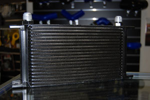 16 Row Oil Cooler - High Flow Performance