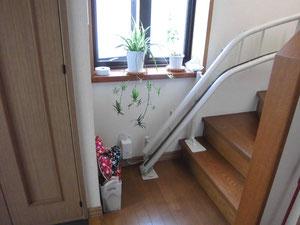 階段昇降機の写真