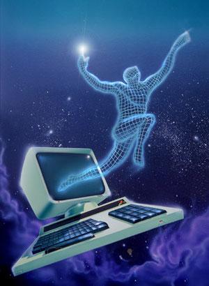 """Computer"" opera di Dino Marsan"