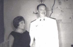 Luis Guijarro y Mª Jesús. 1961