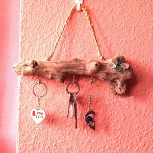 barco madera, cuadro barco, driftwood art, cuelga llaves, organizador bisutería, artesanía asturiana, eco desing, diseño ecológico, decoración ecologica, v y m creaciones maderas del mar