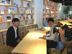 テレビ信州さんのニュース番組「報道ゲンバ」から取材を受けました。