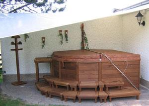 Gartenwhirlpool