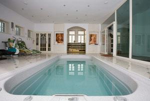 Swim Spa im Haus