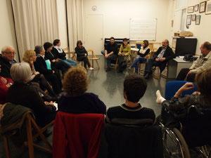 La reunió amb les entitats.