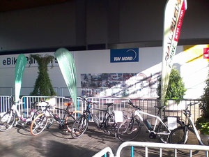 Hannover Messe e-Bike Parcours