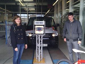 Ahlener Autofrühling mit e-Bikes von e-motion Hamm
