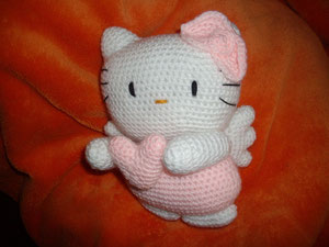 angel kitty amigurumi