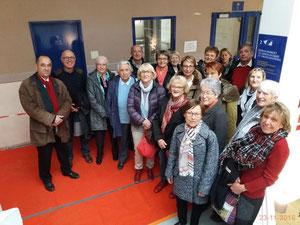Visite du lycée hôtelier de La Rochelle, le 23-11-2016