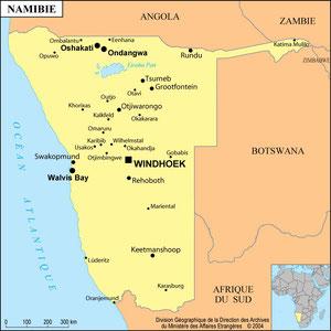 Voyage en Namibie (octobre 2016)