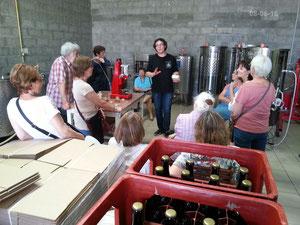 Visite de la brasserie la Beun'aise 08-06-16