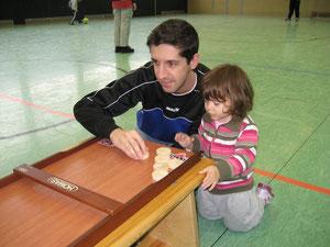 Marco Gedra mit seiner Tochter Sofia