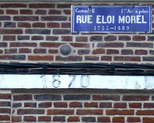 Au 222 de la rue Eloi Morel à Amiens- Ph: Gérard Martel