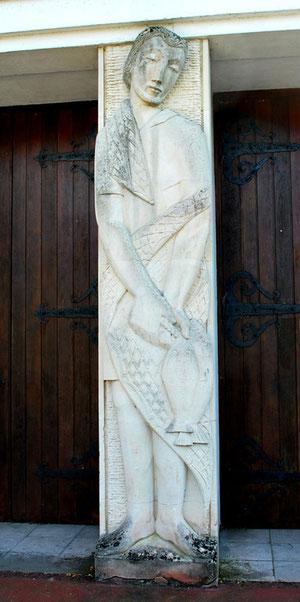 Statue de Saint-Pierre- Eglise de Miannay