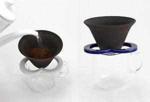 繰り返し使えるセラミックコーヒーフィルター