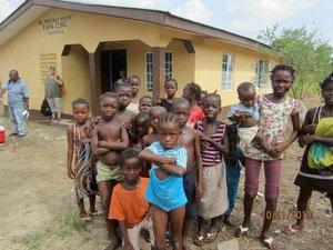 Gesundheitsstation Sierra Leone