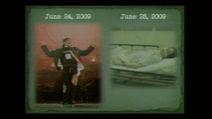 左が死亡12時間前、右が死亡直後の写真 USPOOL