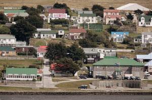 フォークランド諸島の首都スタンレー