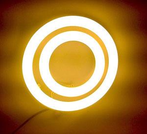 Круглая светодиодная лампа