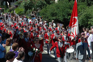 Marschmusikparade