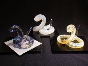 ノグチミエコ 「紫蛇」 「白蛇」 「金蛇」