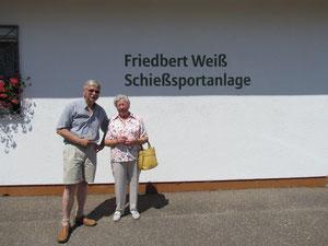 OSM Karl-Heinz Teuscher mit Kathi Weiß