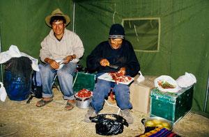 Trekking in der Cordillera Blanca (Peru)