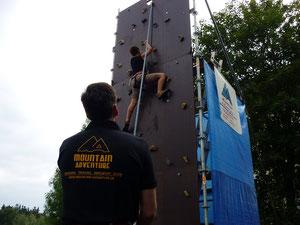 """Kletterturm beim Kinderland """"Bummi""""e.V. in Rodewisch"""