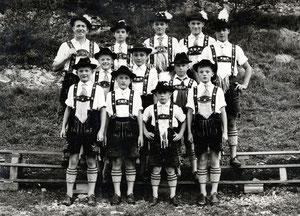Jugendgruppe früher...