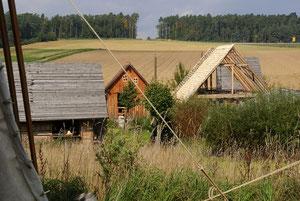 Adventon ein paar Häuser