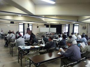 上田市民会館会議室にて 2013/3/31