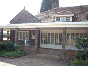 casa de karen Blixen en las afueras de Nairobi