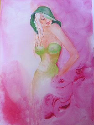 """Woman """"joung"""" 70 x 50 cm 199,00 Euro"""