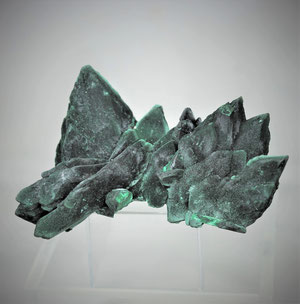 Malachite after Azurite Milpillas Mine Mexico