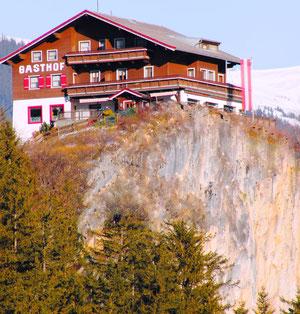 Unser Haus am Felsen
