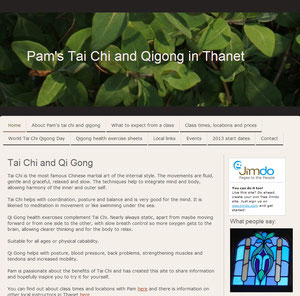 Qigong Pam website, click the image to visit the site