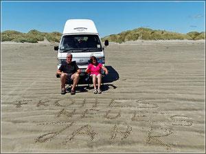 Oreti-Beach am 28.12.13 (zum Vergrößern bitte Anklicken)