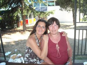Io e Maria Luisa Seghi il giorno del nostro incontro.