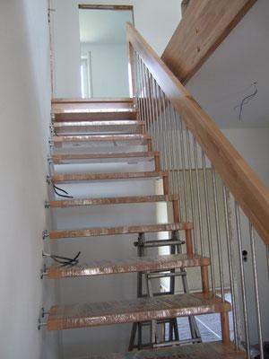 Endlich eine Treppe!