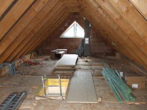Unser Dachboden