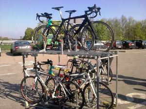 Mein Bike on the Top