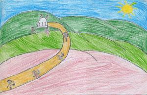 Dibujo de Francisca Torrealba Tapia 10 años