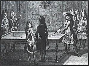 Louis XIV et sa Cour